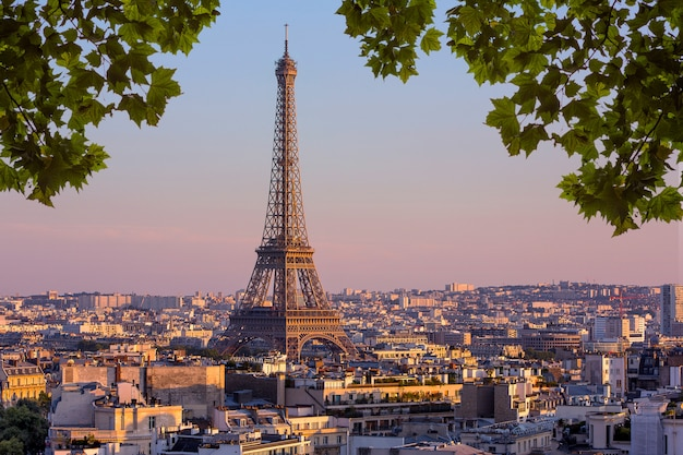 View of paris, france