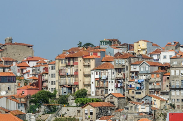 View of porto city on summer day