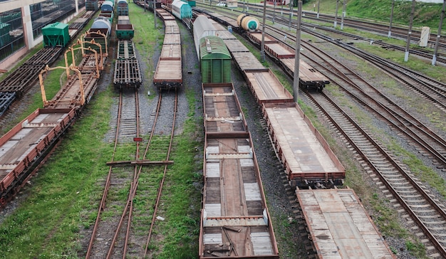 View of the rails
