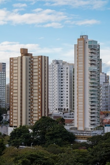 View of residential buildings in the city of salvador bahia brazil.