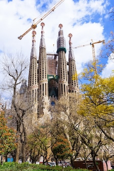 View of sagrada familia