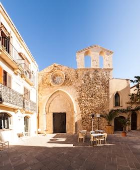 View of the san giovanni battista church, ortigia