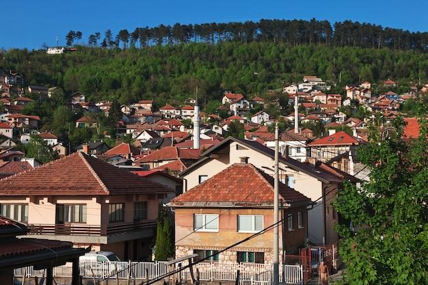 The view on sarajevo city, bosina and herzegovina