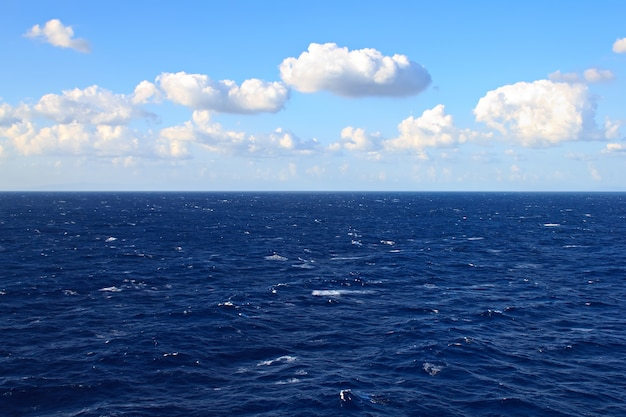 View of sea and clouds in the sky