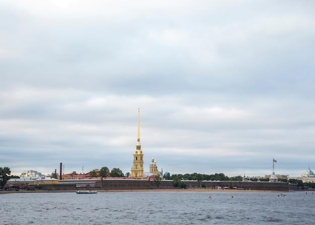View of st petersburg, russia