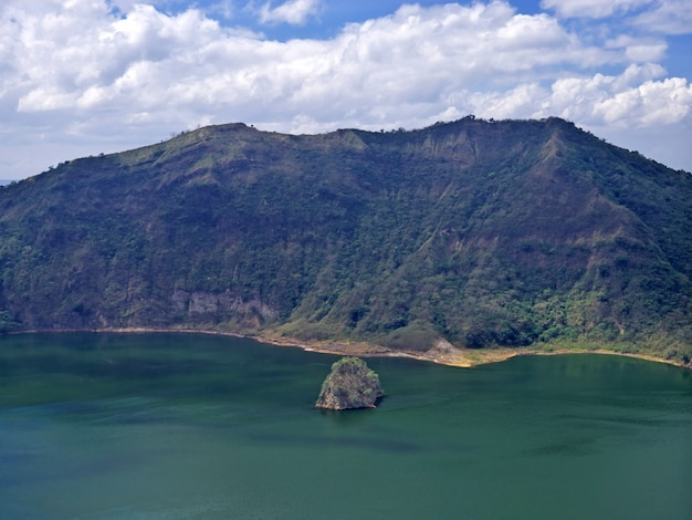 The view on taal volcano, philippines