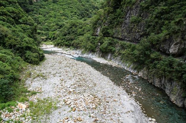 View of taroko national park landscape