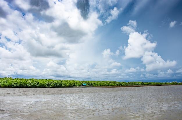 Samut prakanのbang puにある空と海をご覧ください。