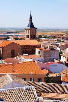 View of town in la mancha