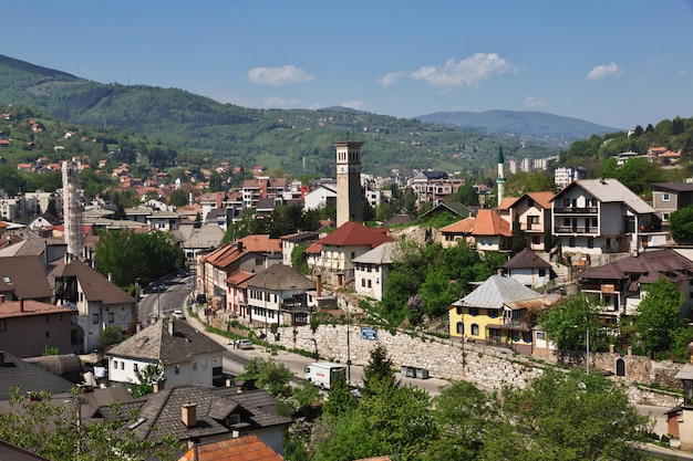 The view on travnik, bosnia and herzegovina