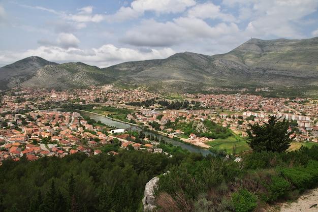 The view on trebinje, bosnia and herzegovina