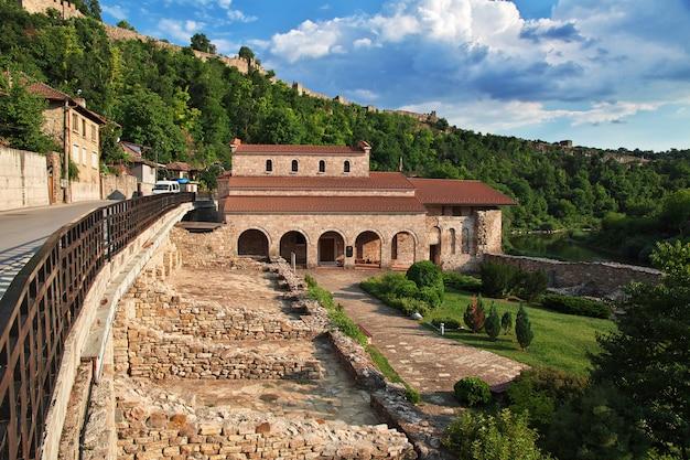The view on veliko tarnovo in bulgaria