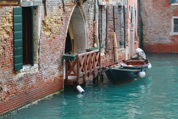 A view of the venice canal