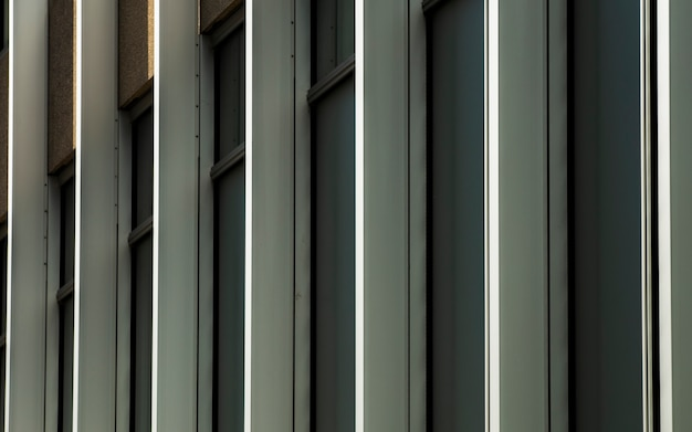 View of windows in a row
