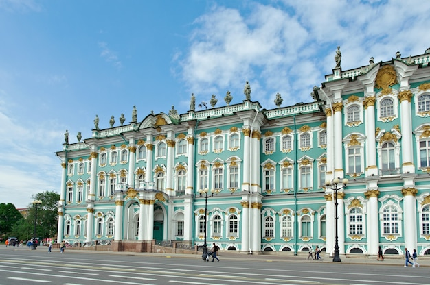Вид зимнего дворца, санкт-петербург, россия, 2 июня 2015 г.