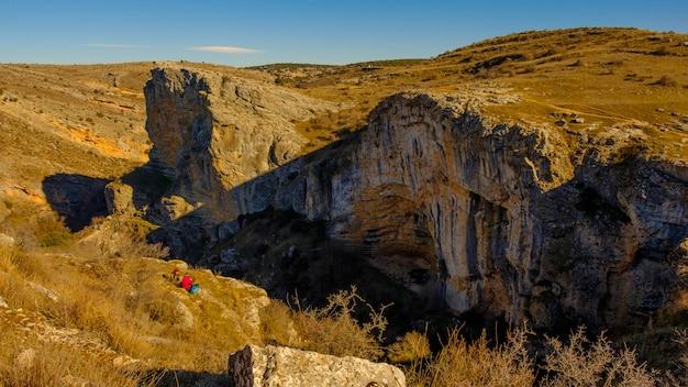 Viewpoint of felix rodriguez de la fuente in siguenza