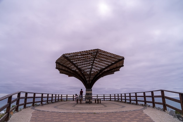 Viewpoint at the most western point of ecuador