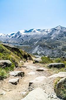 스위스 체르마트 (zermatt)의 마테호른 (matterhorn) 피크 전망.