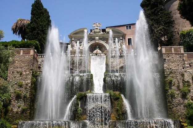 イタリア、チボリのヴィラデステ