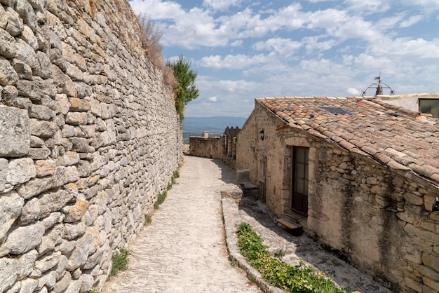 Village ancient of lacoste in provence france europe
