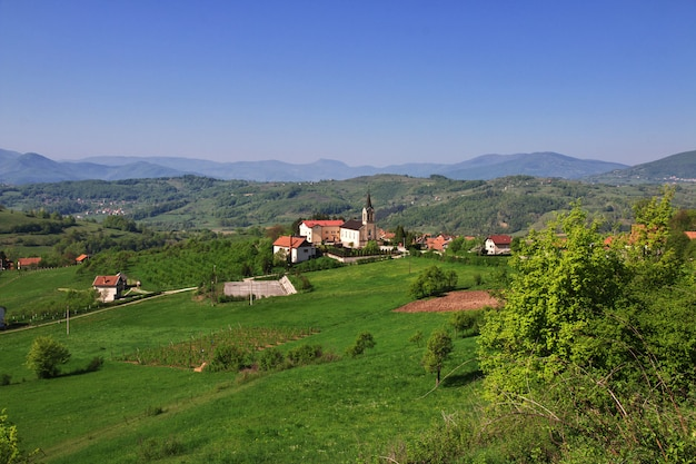 The village in bosnia and herzegovina