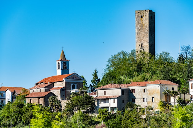 Village of castelletto d'erro