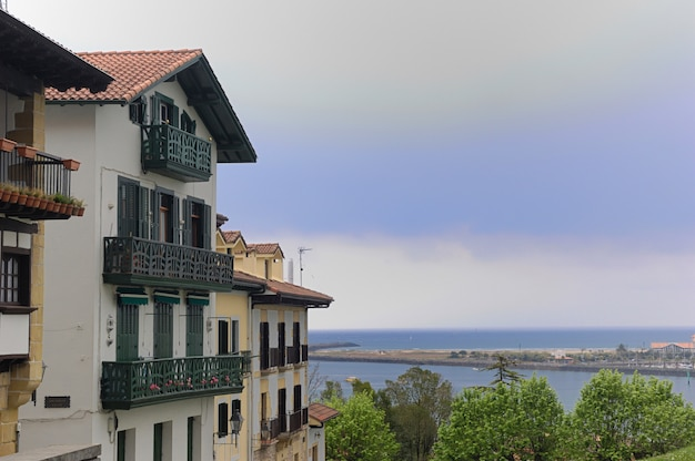 Village of hondarribia