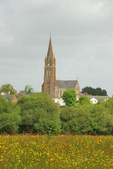 フランスの田舎の村