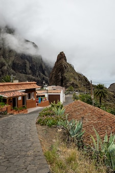 Village in the masca valley