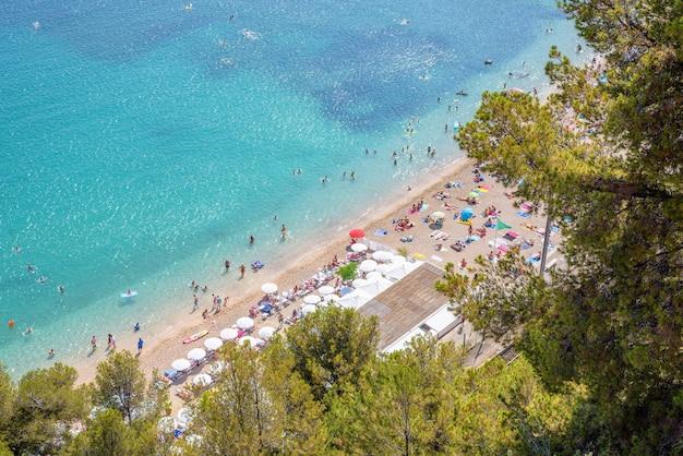 フランスのリヴィエラ、フランスのヴィルフランシュシュールメールとビーチ