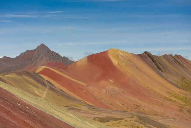 Vinicunca or winikunka, also called montaña de siete colores, montaña de colores or rainbow mountain, is a mountain in peru