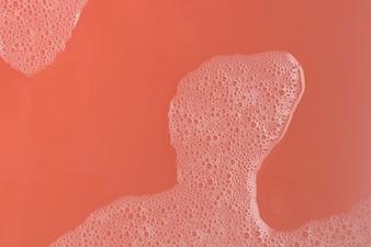 Vinous stiff paint with foam