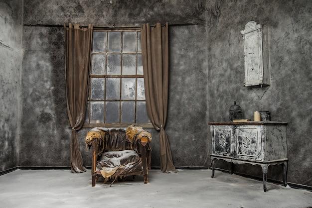 Vintage adandoned interior
