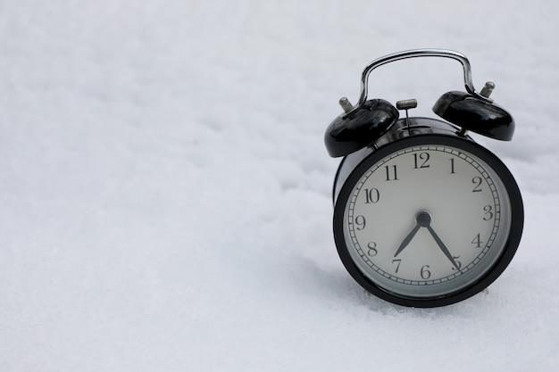 白雪姫のヴィンテージ目覚まし時計。