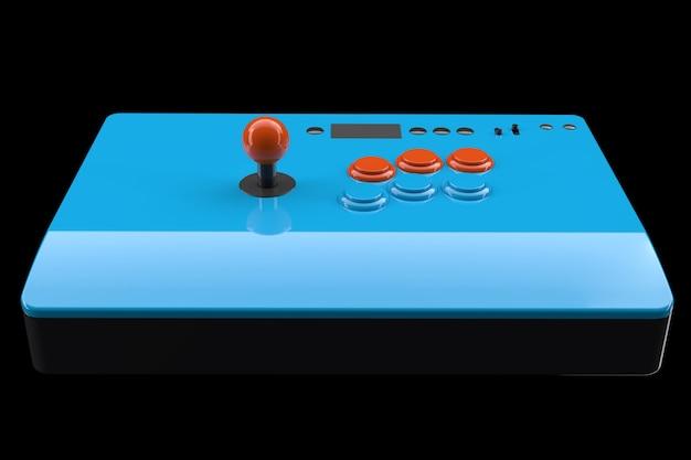 조이스틱과 토너먼트 등급 버튼이 있는 빈티지 아케이드 스틱