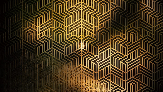 Vintage art deco style background for advertising in art deco and fashion party scene