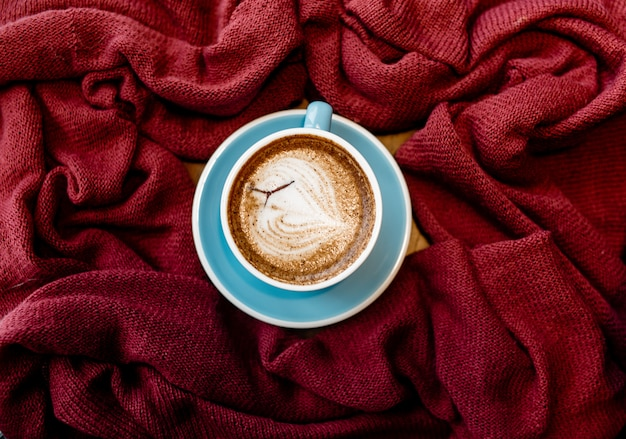 Vintage background of coffee & food photography for design.