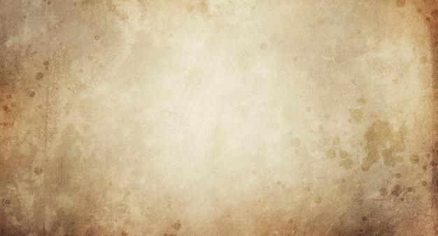 디자인 및 텍스트에 대 한 오래 된 베이지색 종이의 빈티지 배경