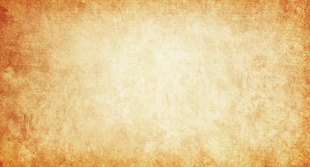 오래 된 베이지색 종이의 빈티지 배경 질감