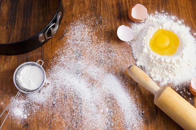 Vintage baking background