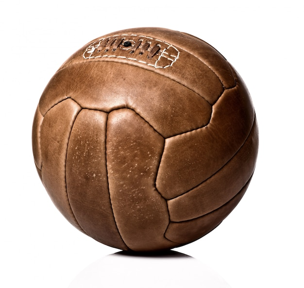 Vintage ball on white