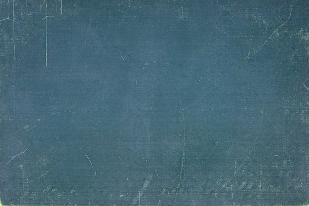 Vintage blue book cover