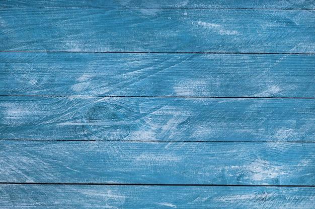 빈티지 블루 나무 배경 텍스처입니다.