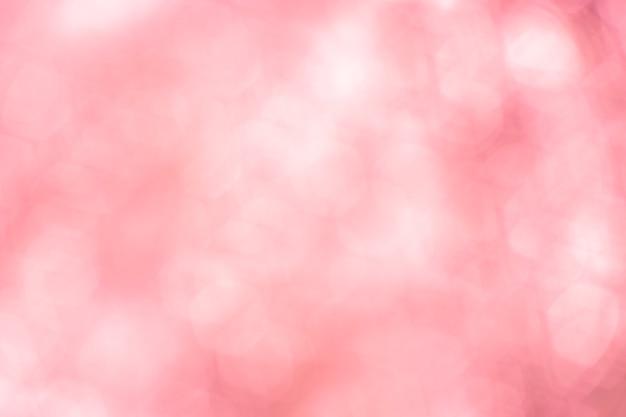 Vintage blurred bokeh pink soft pastel background.