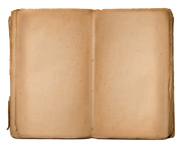 Vintage book with empty space to write