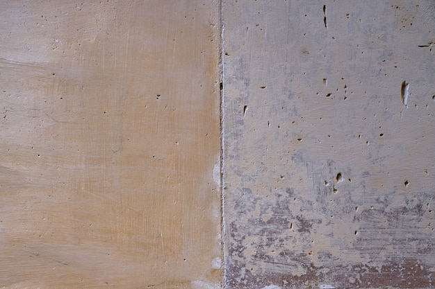 ヴィンテージのレンガを背景として壁を描いた。