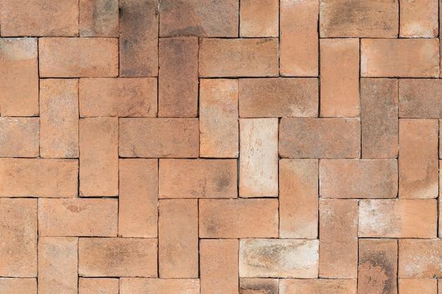 Винтаж кирпичной стены текстурированный фон