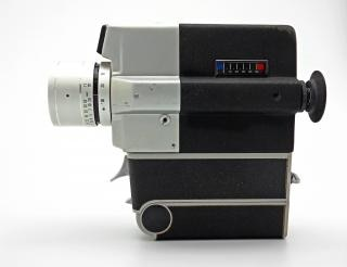 Vintage camera, outdated