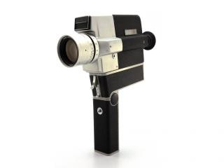 Vintage camera, zoom