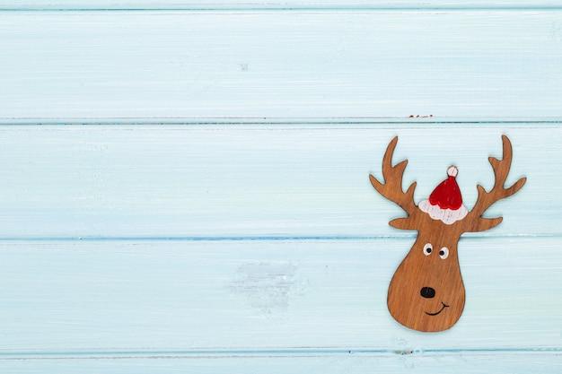 クリスマスの装飾とビンテージのクリスマスの背景。クリスマスのグリーティングカード。